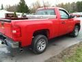2009 Victory Red Chevrolet Silverado 1500 LS Regular Cab  photo #5