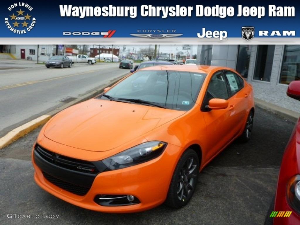 2013 Header Orange Dodge Dart Rallye 79928417 Gtcarlot Com Car Color Galleries