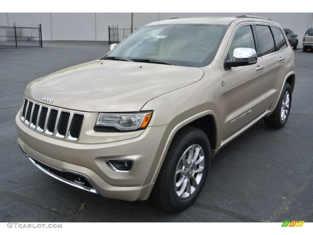 79955610 cashmere pearl 2014 jeep grand cherokee overland 4x4 exterior 2016 Jeep Overland Summit at creativeand.co