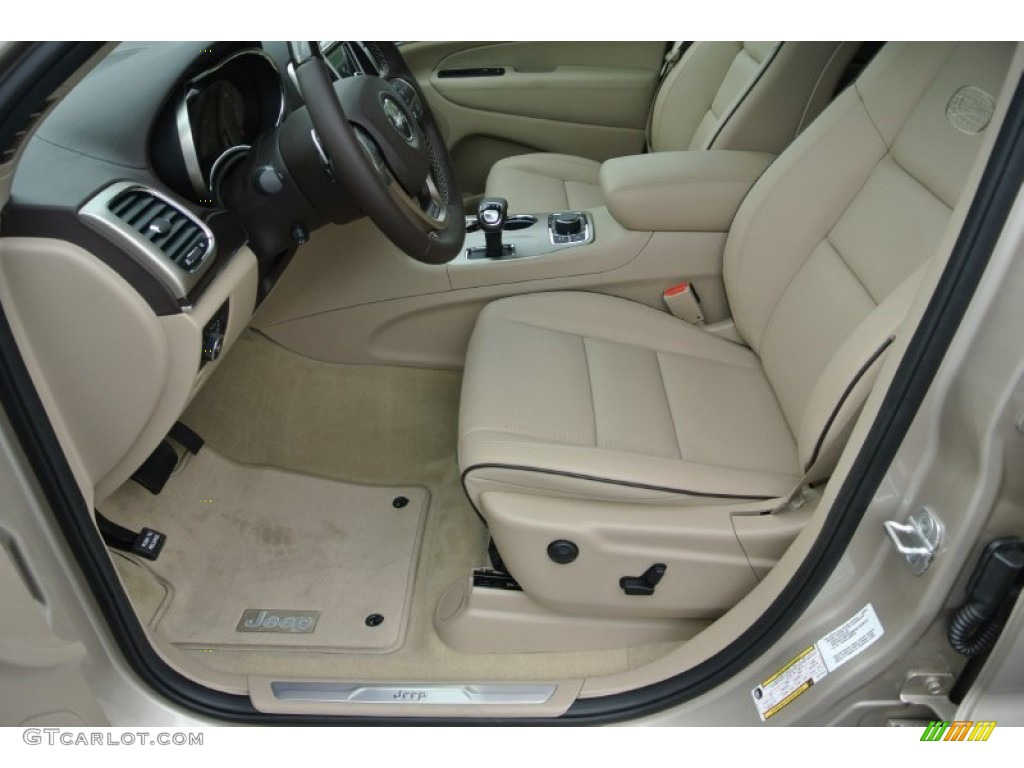 Overland nepal jeep brown light frost interior 2014 jeep grand cherokee overland 4x4 photo