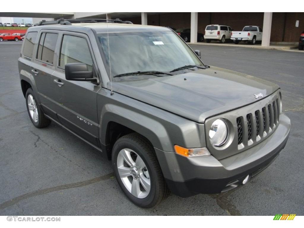 2014 mineral gray metallic jeep patriot latitude #79950234