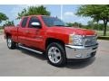 2012 Victory Red Chevrolet Silverado 1500 LT Extended Cab  photo #7