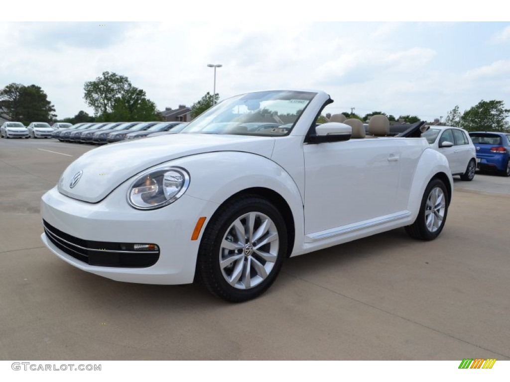 2013 Candy White Volkswagen Beetle Tdi Convertible