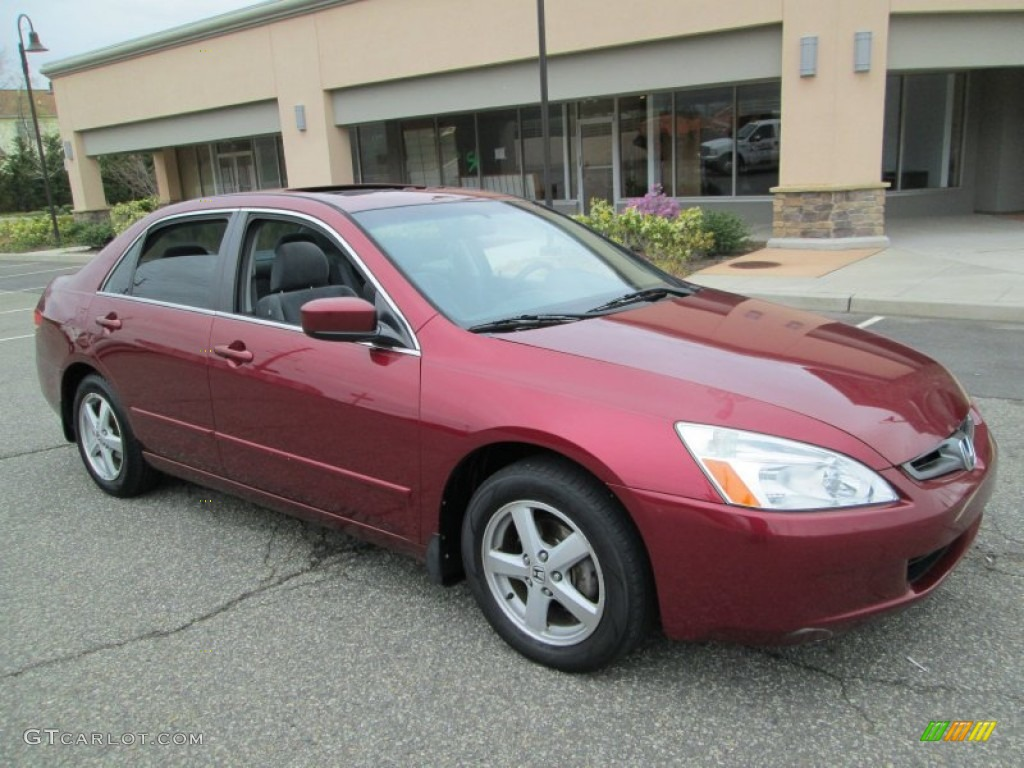 redondo red pearl 2003 honda accord ex sedan exterior. Black Bedroom Furniture Sets. Home Design Ideas