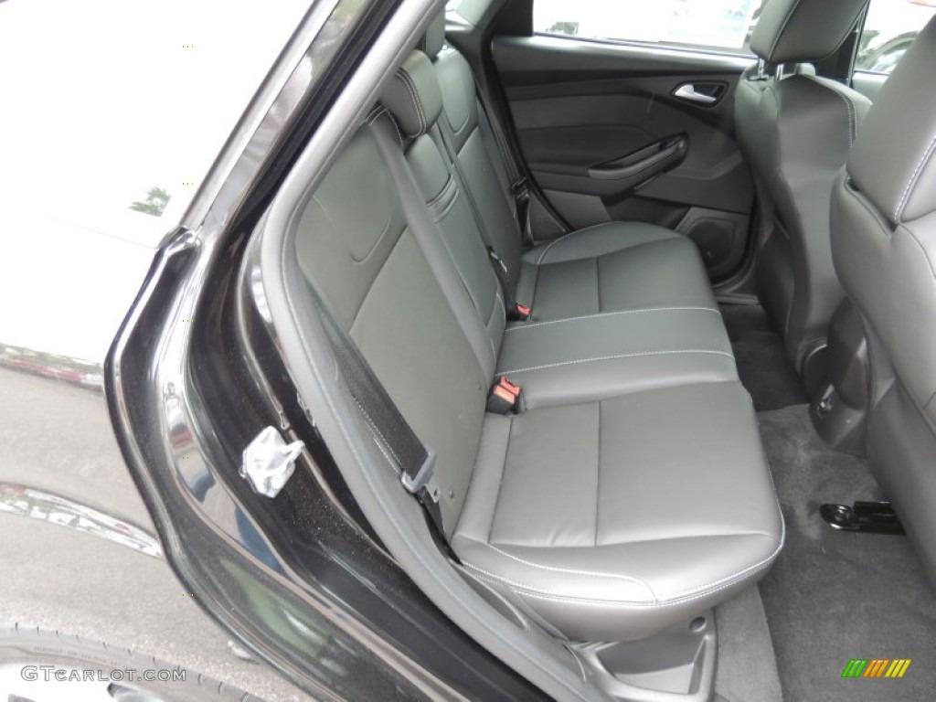 st charcoal black full leather recaro seats interior 2013 ford focus st hatchback photo. Black Bedroom Furniture Sets. Home Design Ideas