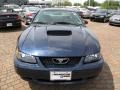 2001 True Blue Metallic Ford Mustang GT Coupe  photo #16