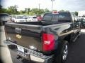2011 Black Chevrolet Silverado 1500 LT Extended Cab  photo #7