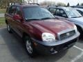 2003 Merlot Red Hyundai Santa Fe GLS 4WD #79950561