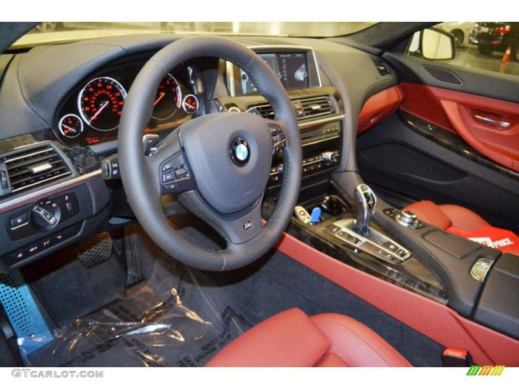 Bmw Red Interior Interior 2013 Bmw 6 Series