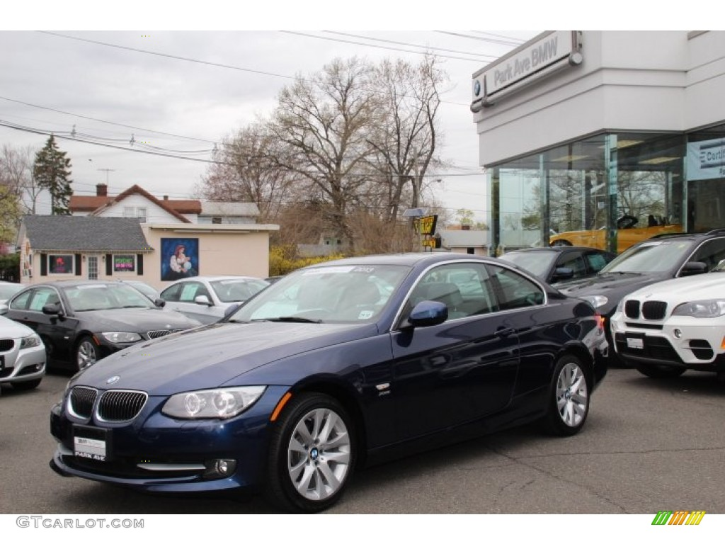 2013 deep sea blue metallic bmw 3 series 328i xdrive coupe. Black Bedroom Furniture Sets. Home Design Ideas