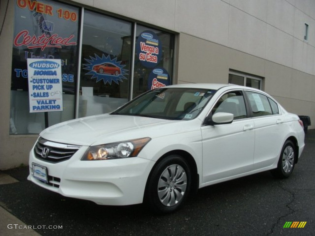 2011 Taffeta White Honda Accord Lx Sedan 79950498