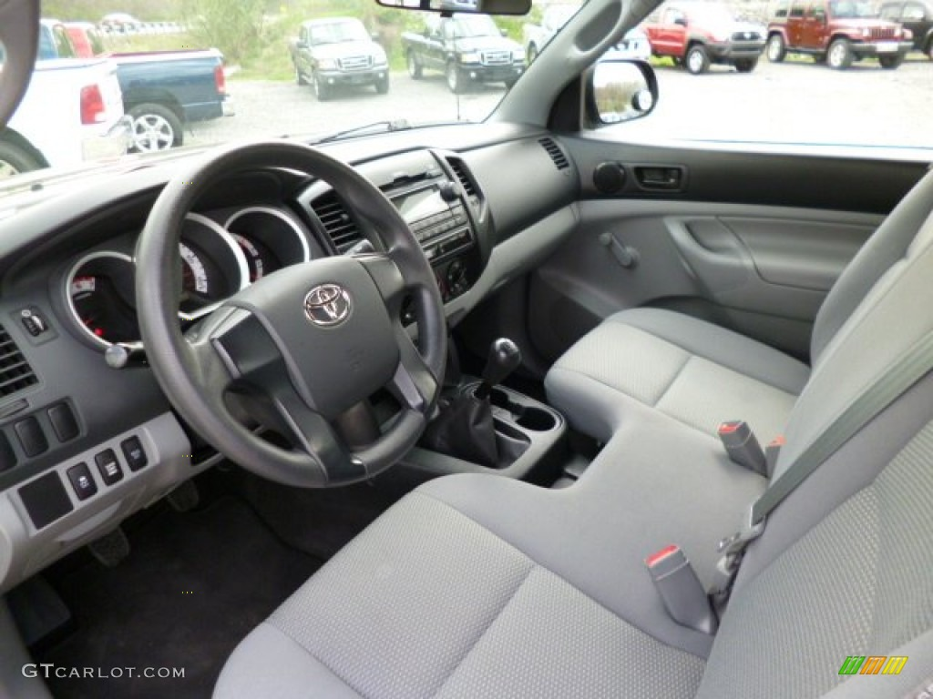 2012 toyota tacoma regular cab 4x4 interior color photos. Black Bedroom Furniture Sets. Home Design Ideas