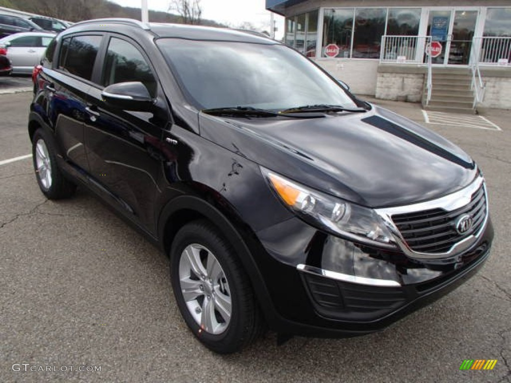 black cherry 2013 kia sportage lx awd exterior photo 80018873. Black Bedroom Furniture Sets. Home Design Ideas