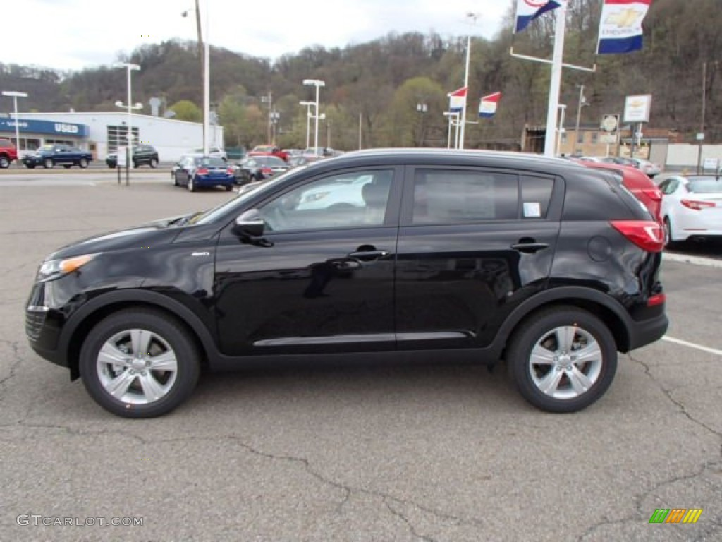 black cherry 2013 kia sportage lx awd exterior photo 80018912. Black Bedroom Furniture Sets. Home Design Ideas