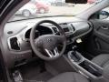Alpine Gray 2013 Kia Sportage Interiors