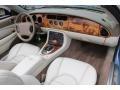 2006 Jaguar XK Ivory Interior Dashboard Photo