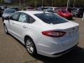 2013 Oxford White Ford Fusion SE  photo #6