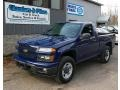 Deep Navy Blue 2009 Chevrolet Colorado Regular Cab 4x4