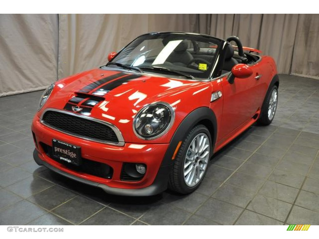Mini Cooper Ice Blue >> 2013 Chili Red Mini Cooper S Roadster #79949447 | GTCarLot ...