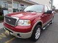 Redfire Metallic 2008 Ford F150 Lariat SuperCrew 4x4