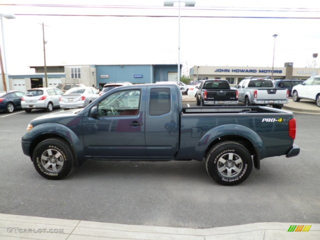 Graphite Blue 2013 Nissan Frontier Pro 4x King Cab 4x4