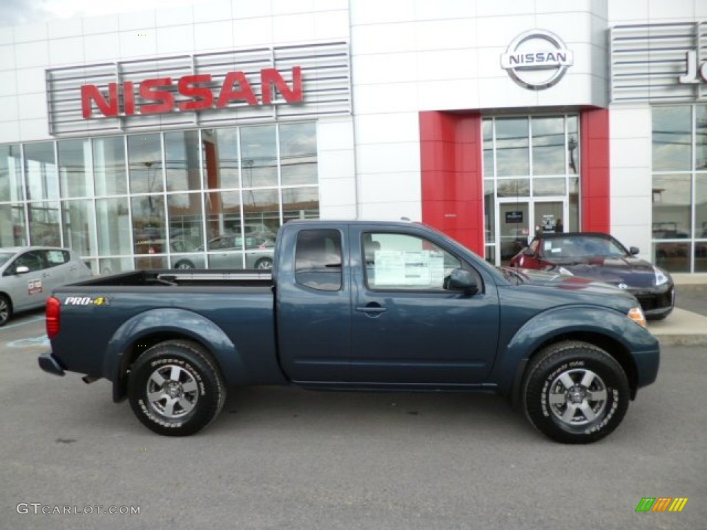 Graphite Blue 2013 Nissan Frontier Pro 4X King Cab 4x4 Exterior Photo  #80035503