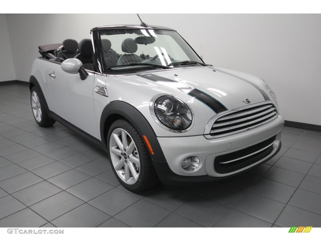 2013 white silver metallic mini cooper convertible highgate package 79950066 photo 12. Black Bedroom Furniture Sets. Home Design Ideas