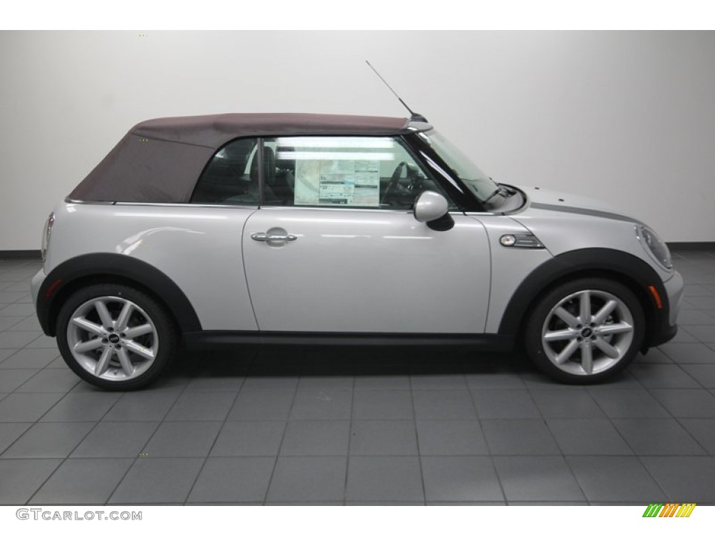 2013 white silver metallic mini cooper convertible highgate package 79950066 photo 8. Black Bedroom Furniture Sets. Home Design Ideas