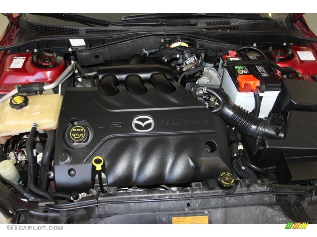 2006 Mazda 6 Engine Mazda6 S Sport Sedan 3 0 Liter Dohc 2004 Diagram 24 Valve Vvt V6 Photo 80057353