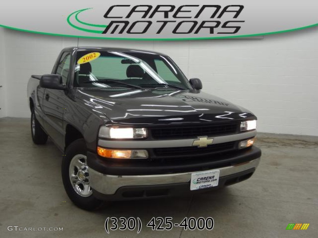 Medium Charcoal Gray Metallic Chevrolet Silverado 1500