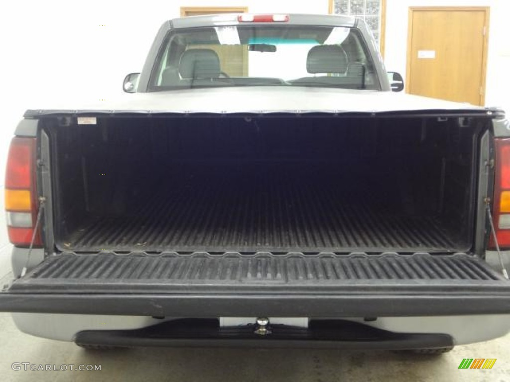 2002 Silverado 1500 Work Truck Regular Cab - Medium Charcoal Gray Metallic / Graphite Gray photo #10