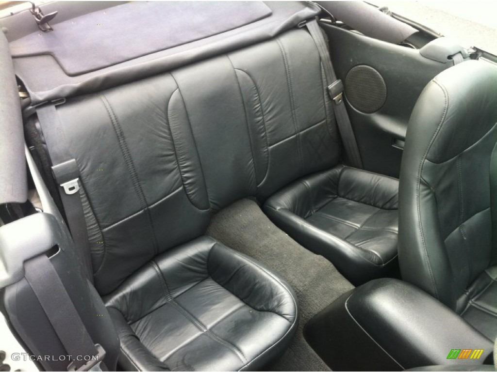 Dark Gray Interior 1995 Chevrolet Camaro Z28 Convertible Photo 80067017