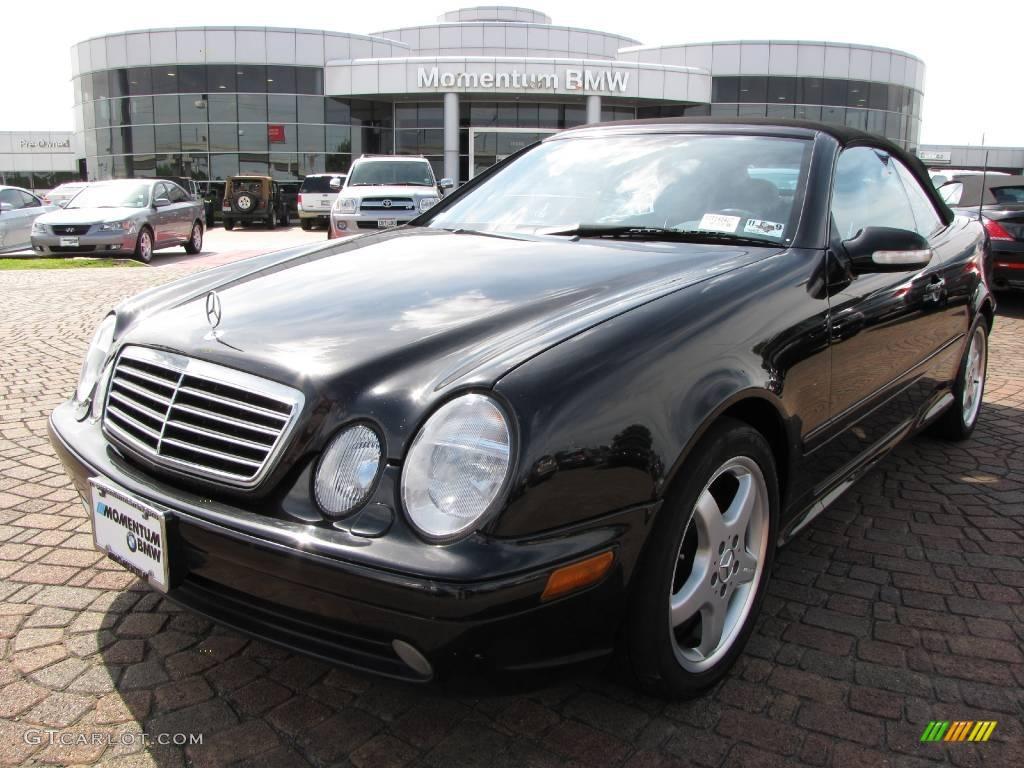 2003 black mercedes benz clk 430 cabriolet 7980890 for Black convertible mercedes benz