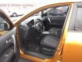 Black 2008 Nissan Rogue Interiors