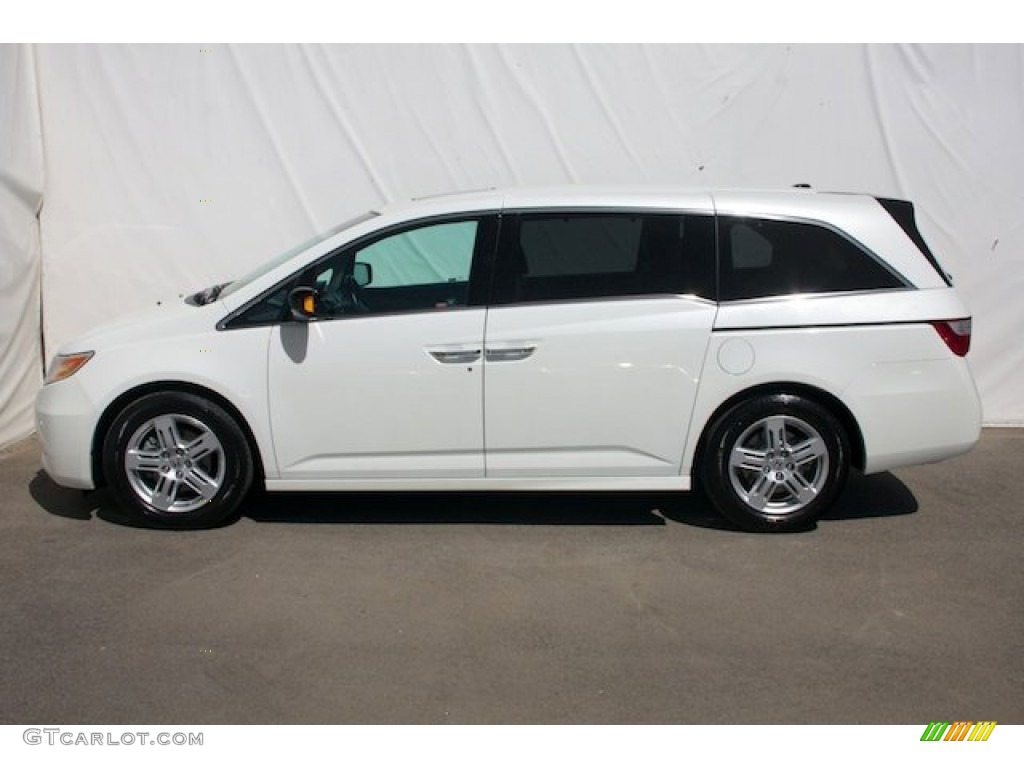 white diamond pearl 2012 honda odyssey touring elite exterior photo 80074149. Black Bedroom Furniture Sets. Home Design Ideas