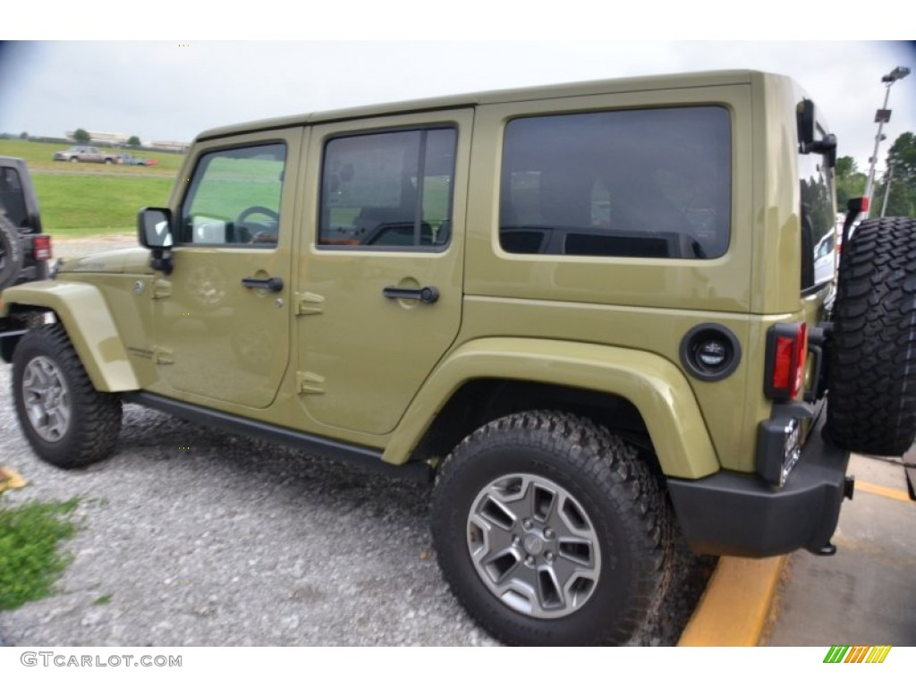 2013 jeep wrangler unlimited commando green auto design tech. Black Bedroom Furniture Sets. Home Design Ideas