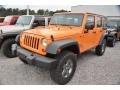 2013 Dozer Yellow Jeep Wrangler Unlimited Sport S 4x4 #80076019