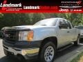 Pure Silver Metallic 2011 GMC Sierra 1500 Extended Cab