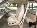 1999 Ford F250 Super Duty Medium Prairie Tan Interior Interior Photo