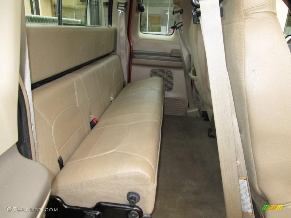 1999 ford f250 super duty lariat extended cab rear seat photo 80087487 gtcarlot com