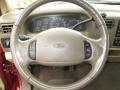 1999 Ford F250 Super Duty Medium Prairie Tan Interior Steering Wheel Photo