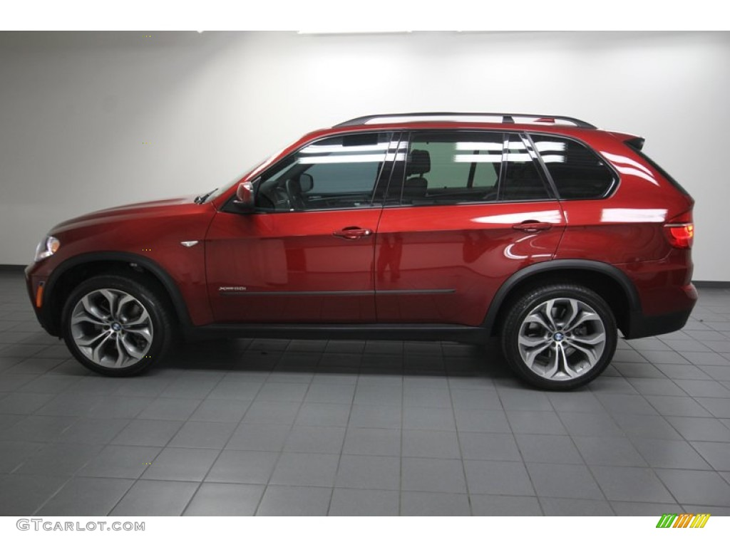 Vermilion Red Metallic BMW X XDrive I Exterior Photo - 2013 bmw x5 50i