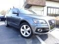 Monsoon Gray Metallic 2012 Audi Q5 3.2 FSI quattro