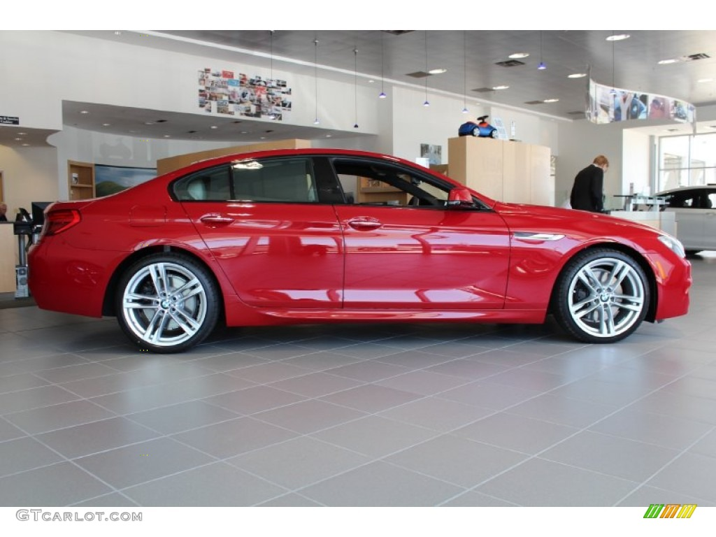 2014 Imola Red BMW 6 Series 650i Gran Coupe 80076148 Photo 5