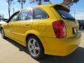 Vivid Yellow - Protege 5 Wagon Photo No. 2