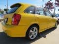 Vivid Yellow - Protege 5 Wagon Photo No. 3