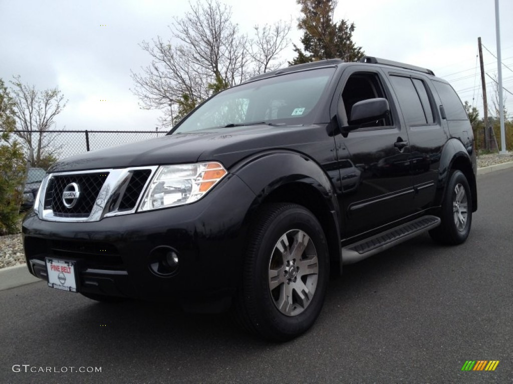 2009 super black nissan pathfinder se 4x4 80117784. Black Bedroom Furniture Sets. Home Design Ideas