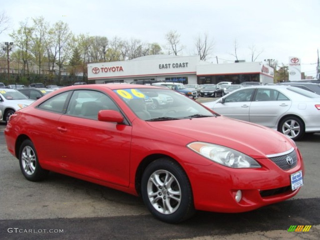 2006 Absolutely Red Toyota Solara Se Coupe 80117354