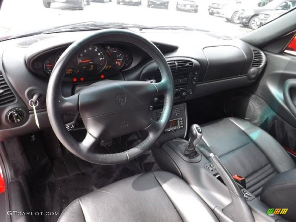 2001 Porsche 911 Carrera 4 Coupe Interior Photos