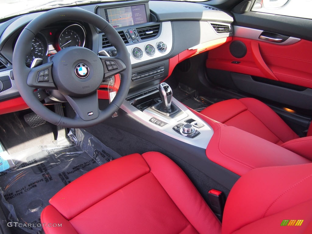 Coral Red Interior 2013 Bmw Z4 Sdrive 35i Photo 80145403